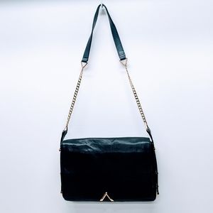 Reiss London Leather with Chain Bag